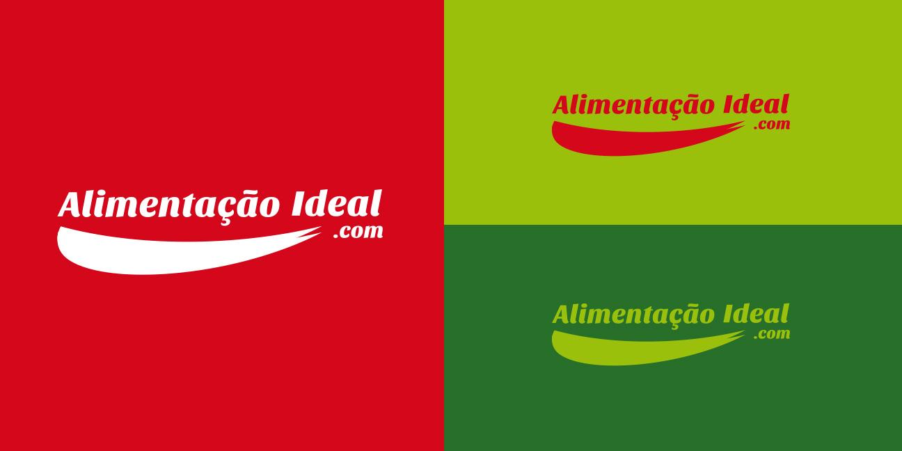 Aplicação Logotipo - Alimentação Ideal