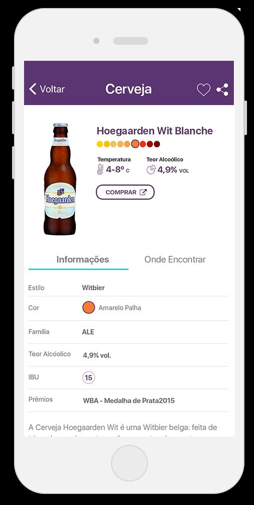 Informações sobre Cerveja - Pedida de Hoje