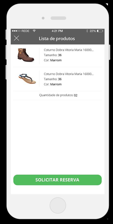 Lista de Produtos - Oscar Calçados